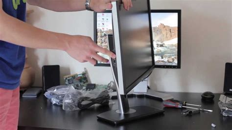 Dell U2412M unboxing and first look - YouTube