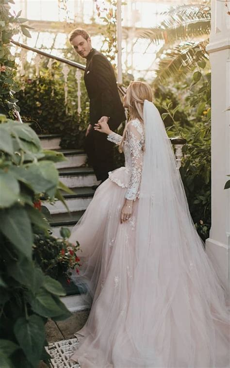 PewDiePie And Marzia Bisognin Marry In Beautiful London