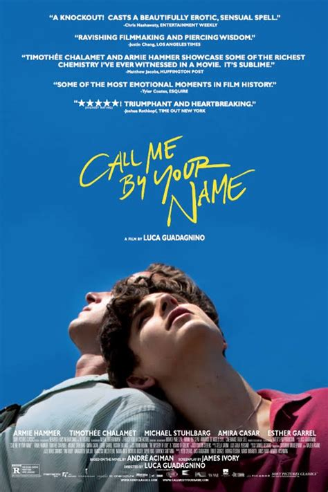 Call Me By Your Name Soundtrack (2017) – Complete List of