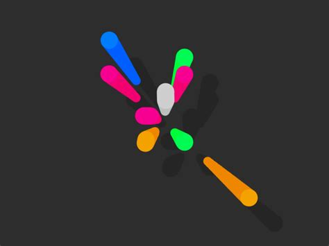 colorful animated gif by Luke Roberts on Dribbble