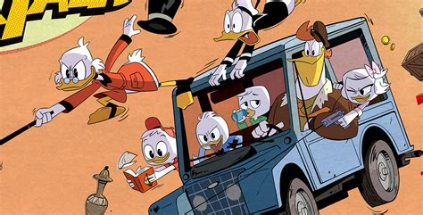 Breaking News from Duckburg—New DuckTales Image Revealed
