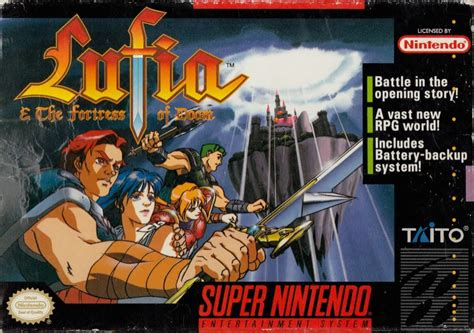 Lufia & the Fortress of Doom for SNES (1993) - MobyGames