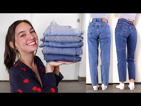 Putting the s~ASS in Vintage Levi's Mom Jeans |