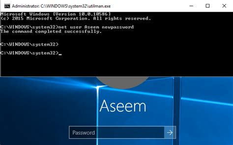 Lost or Forgot Administrator Password in Windows?