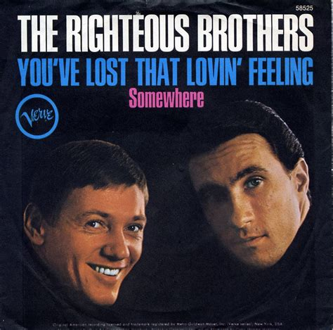 """Lyric Of The Week: The Righteous Brothers, """"You've Lost"""