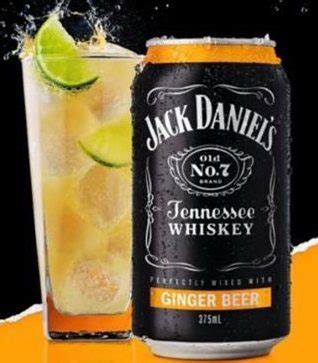 Jack Daniels & Ginger Beer Can 375ml - Liquor Barons Connolly