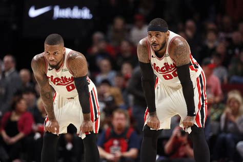 Lillard on Carmelo Anthony: 'It's Been a Joy to Have Him