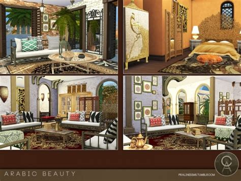 The Sims Resource: Arabic Beauty house by Praline Sims