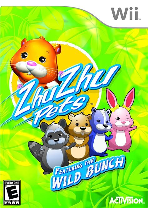 Activision's 'ZhuZhu Pets Featuring the Wild Bunch' and