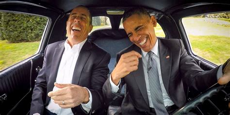 Jerry Seinfeld's Comedians In Cars Getting Coffee Moving