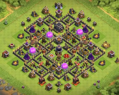 10+ Best TH9 Farming Base in Sep 2018 (*!NEW!*)