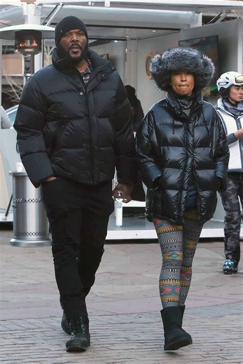 Tyler Perry and his common law wife Gelila Bekele enjoyed