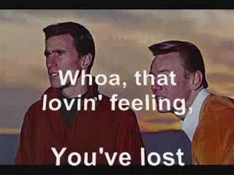 Righteous Brothers - Lost That Loving Feeling Lyrics - YouTube