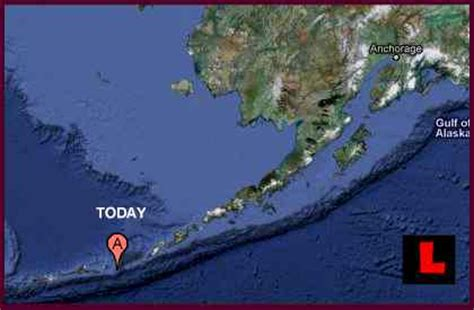 Alaska Earthquake Today Strikes West of Anchorage