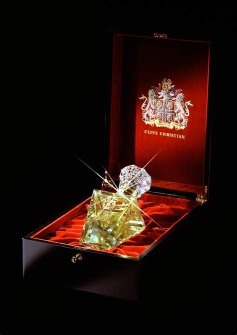 """Clive Christian, """"the world's most expensive perfume"""""""