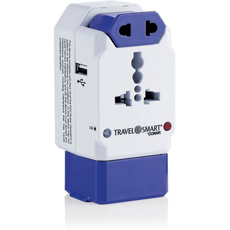 Travel Smart by Conair TS238AP All-in-One Adapter Plug TS238X