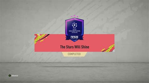 FIFA 20 SBC The Stars Will Shine - Total Cost: 7,200 Coins