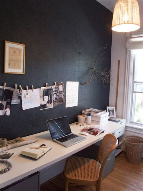 23 Chalkboard Paint Home Office Ideas To Transform Your