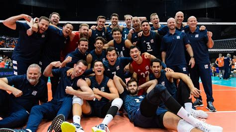 USA men's national volleyball team qualifies for 2020