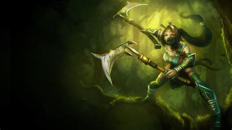 Akali Old Classic Skin   LoLWallpapers